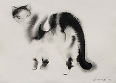 Watercolorcatsbyendrepenovac14
